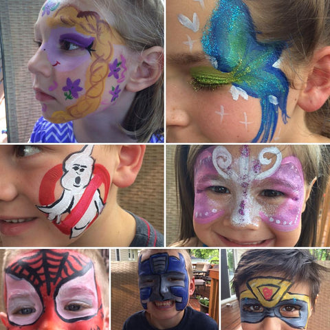 Face Painting & Glitter Tattoos