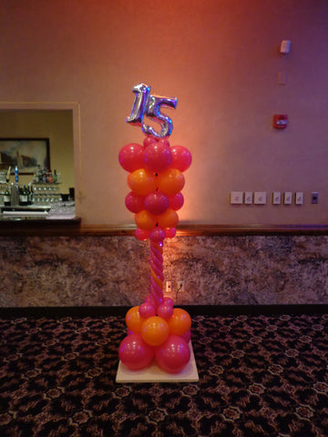 Balloon Columns and Arches