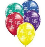 "Happy Birthday 16"" latex and balloon lights"