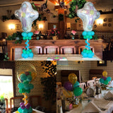 Religious Themed Balloons and Centerpieces