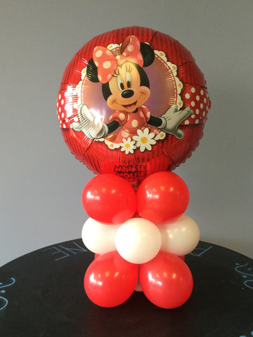 Minnie or Mickey Mouse DIY Balloon Column