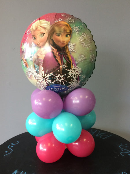 Frozen Table Top Column Diy Balloon Kit Party Products