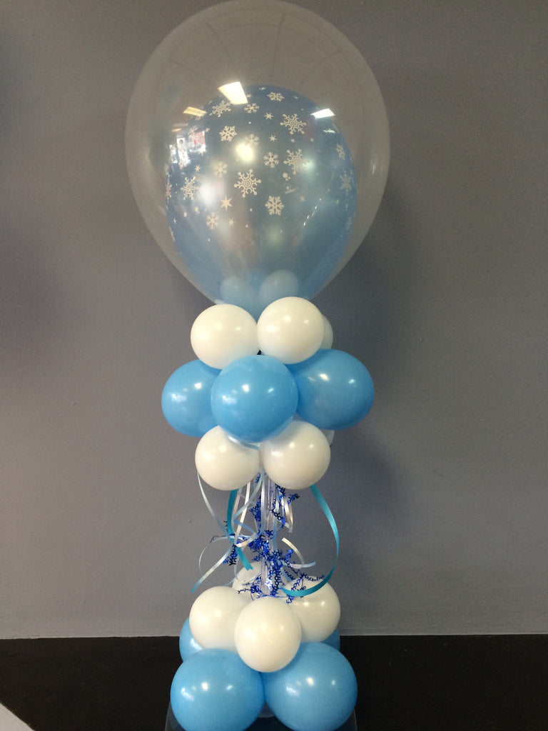 Phenomenal Snowflake Balloon Centerpiece Download Free Architecture Designs Boapuretrmadebymaigaardcom