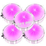 Pink mini sticky lights can be labeled for fundraisers. Think pink in October!