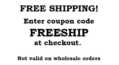 FREE SHIPPING coupon for all orders