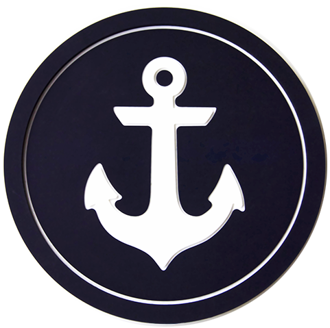 anchors aweigh coaster   nautical coaster vessel coasters
