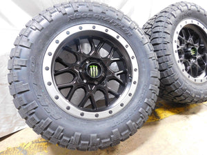 Lifted truck wheels and tires