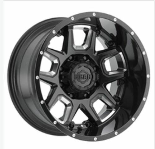 Gear Offroad Wheels, Black Wheels