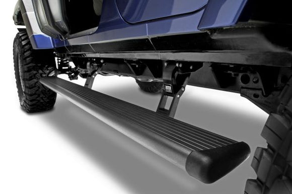 AMP Research 75132-01A PowerStep Electric Running Boards for 2018-2019 Jeep Wrangler JL, 4-Door