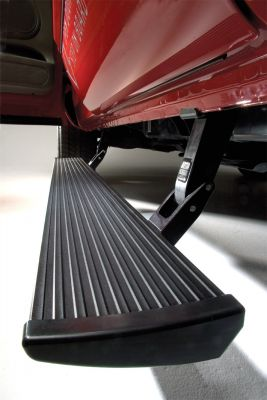 Amp Research GMC Yukon, Chevrolet Tahoe Power Steps, retractable running boards, electric step