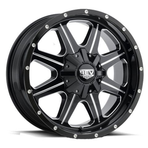 Jeep Wrangler / Dodge Ram DV8 823 Rev Wheel