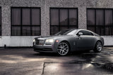 Rolls Royce Wraith with custom wheels