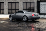 Grey Rolls Royce Wraith with Modulare B18RR wheels