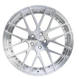 Modulare D14 2-piece forged wheel in brushed finish