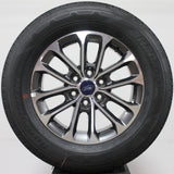 "Copy of Ford F150 18"" Grey / Machined Wheels, 265/60R18 Hankook,, Set of 4, Part# JL3Z1007A"