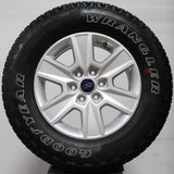 "18"" silver wheel for Ford F150 with Goodyear Wrangler tire"