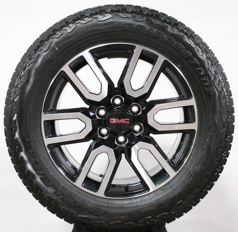 "20"" 2019 GMC SIERRA AT4 BLACK/MACHINED ALUMINUM / PART#-NZH2019"