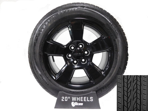 "20"" GMC SIERRA/YUKON PAINTED BLACK/ PART#-RD4PB"