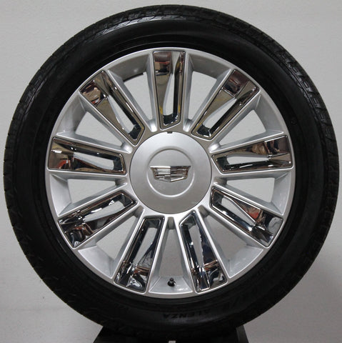 "22"" CADILLAC ESCLADE POLISHED CHROME/ PART#-SGG"