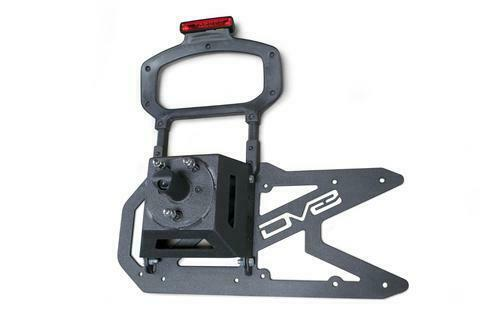DV8 Offroad TCJL-01 Wrangler JL Tailgate Mounted Tire Carrier