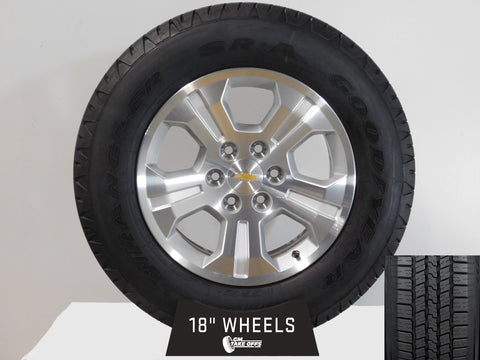 "18"" CHEVROLET SILVERADO/TAHOE POLISHED/ PART#-RD1"