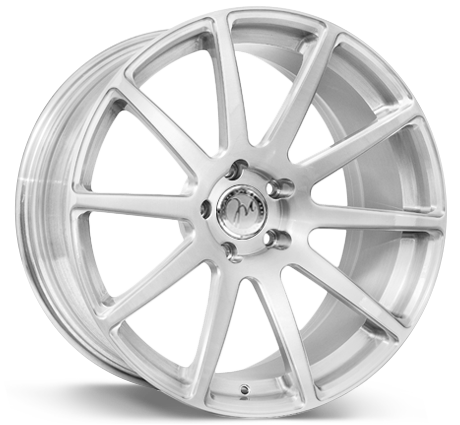 Modulare B15 Monoblock forged, brushed finish wheel