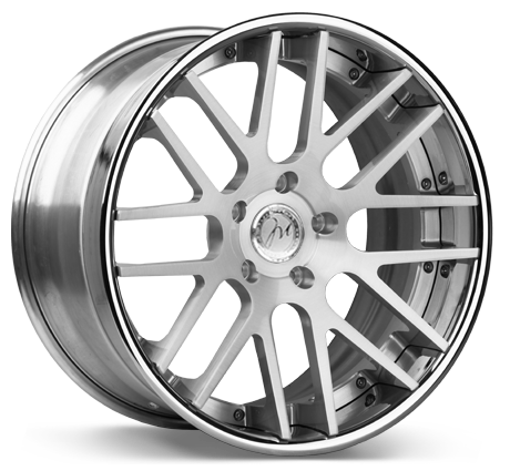 Modulare C14-DC Deep concave 3-piece forged wheels