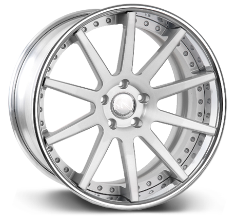 Modulare C15-DC Deep concave 3-piece forged wheels
