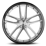 Modulare C30 EVO brushed finish forged 3-piece wheel