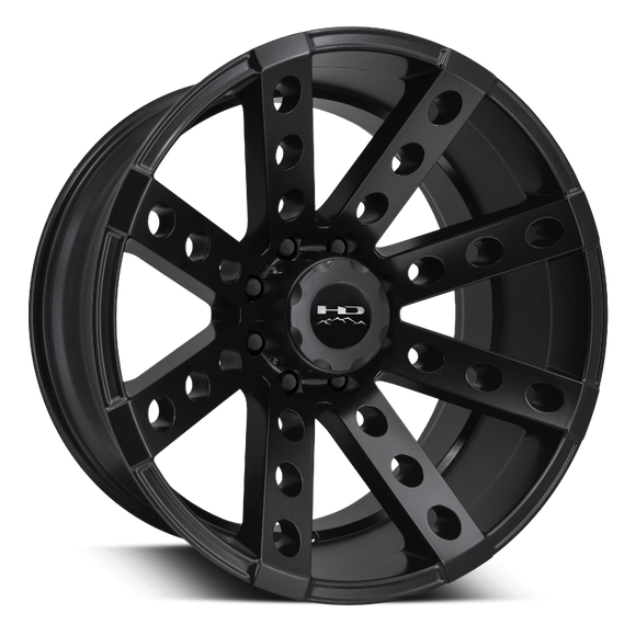HD Off-Road Buckshot Wheels | All Satin Black