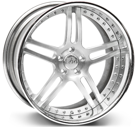 Modulare Heritage M11 3-piece forged wheel