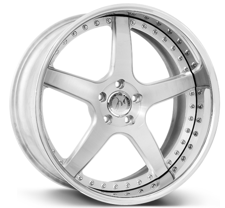 Modulare Heritage M17 3-piece forged wheels