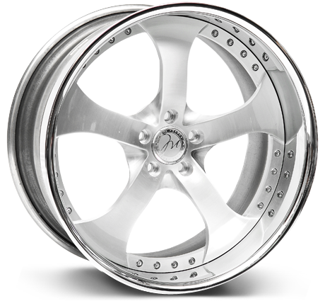Modulare Heritage M2 3-piece forged wheels