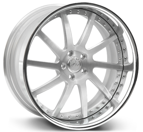 Modulare Heritage M9 3-piece forged wheels