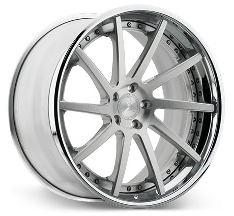 Modulare S9 Deep Concave Step Lip 3-piece wheels