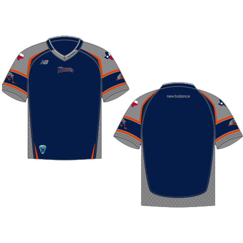 Rattlers Blank Replica Home Jersey