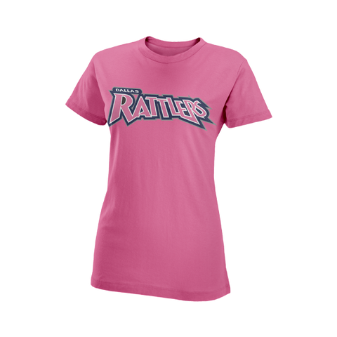 Rattlers Pink 50/50 T-Shirt