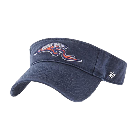 Rattlers Clean Up '47 Visor