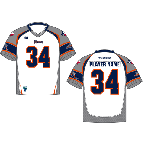 Rattlers Custom Replica Away Jersey