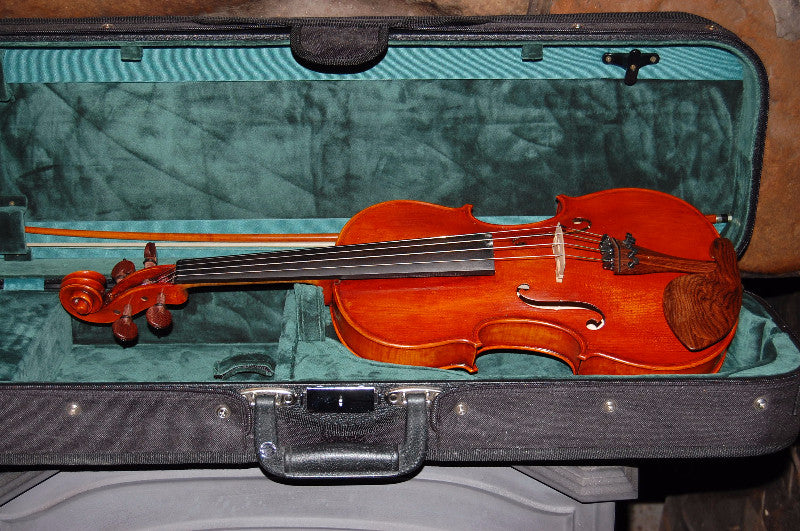 "Appalachian Violin Company prototype fiddle, ""Deep Fryed"""
