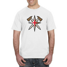 Load image into Gallery viewer, GOLDEN AXES-LV Golden Knights Inspired Firefighter Fan Tee