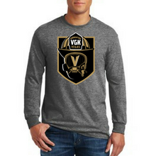 Load image into Gallery viewer, Firefighter Knight- Golden Knights Inspired Firefighter Fan Tee
