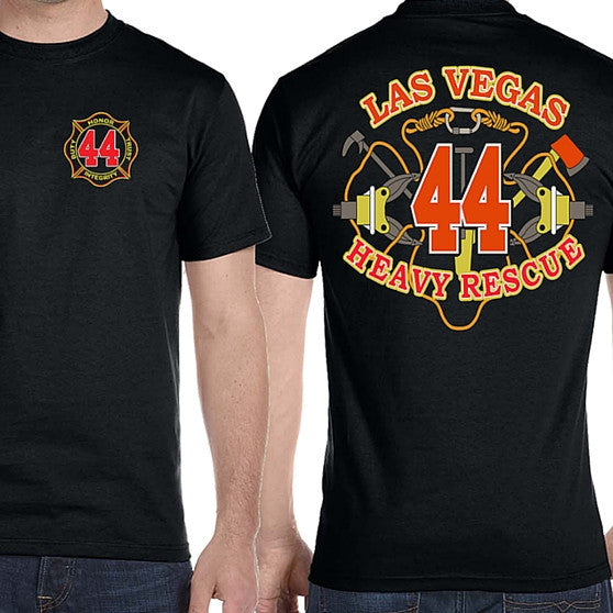 LVFR Technical Rescue Team Off Duty Tee By LVFBA