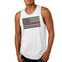 Load image into Gallery viewer, LVFR Thin Red Line Flag Tee