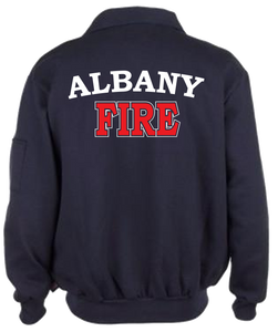 Albany Game 1/4 Zip Job Shirt