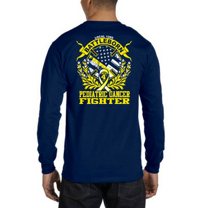 LVFR Childhood Cancer Awareness Longsleeve Duty Shirt 2018