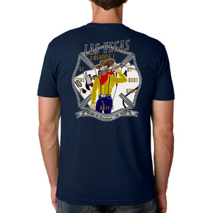 Las Vegas FIRE STATION ONE Pride Tee