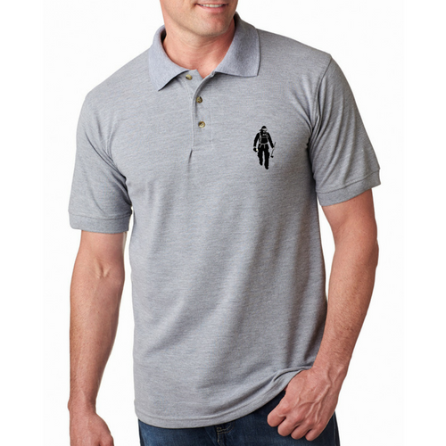 PFFN Made In USA Embroidered Polo W/ Chest Logo (100% Cotton)