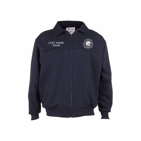 LVFR Game AMERICAN MADE Full Zip Job Shirt