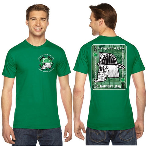 LVFR 2016 GREEN Saint Patrick's Day Off Duty Shirt